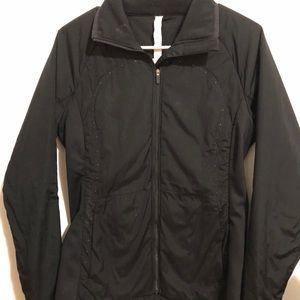 Lulu Lemon Black Athletic Jacket 8